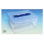 PCT 밀폐 용기 (Rectangular with Handle, PCT Tight-sealing Containers)