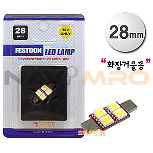 FESTOON 5450 3Chip 4P 28mm