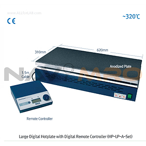 디지털 대형 정밀 가열판 (Digital Remote Controller,Large Digital Hotplate)