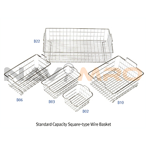 사각 와이어 바스켓 (Standard Capacity, Square-type Wire Baskets)