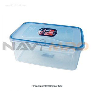 PP 밀폐 용기 (Rectangular type/직-4각, PP Tight-sealing Containers)