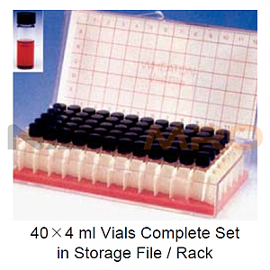 바이알 랙 악세사리 (Empty Vial Storage File/Rack)
