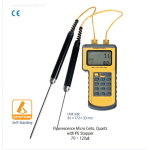 휴대용 2채널 디지털 온도계 (Portable Digital 2-Channel Thermocouple Thermometer)