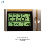 탁상용 디지털 알람 시계 온도계 (Desktop Digital Multi-Alarm Clock & Thermometer) ATM