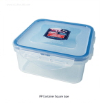 PP 밀폐 용기 (Square type/정4각형, PP Tight-sealing Containers)