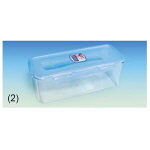 PCT 밀폐 용기 (Rectangular without Handle, PCT Tight-sealing Containers)