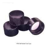 페놀릭 스크류캡 (PTFE/SB-Rubber Lined Closed-top)