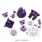 2 Leg 타입형 스토퍼 (2-Leg Plug Slotted Type, Stoppers) WHEATON