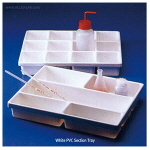 칸막이 트레이 (White PVC Section Trays) KARTELL