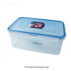 PP 밀폐 용기 (Rectangular type/직-4각, PP Tight-sealing Containers) 락앤락