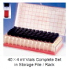 바이알 랙 악세사리 (Empty Vial Storage File/Rack) WHEATON